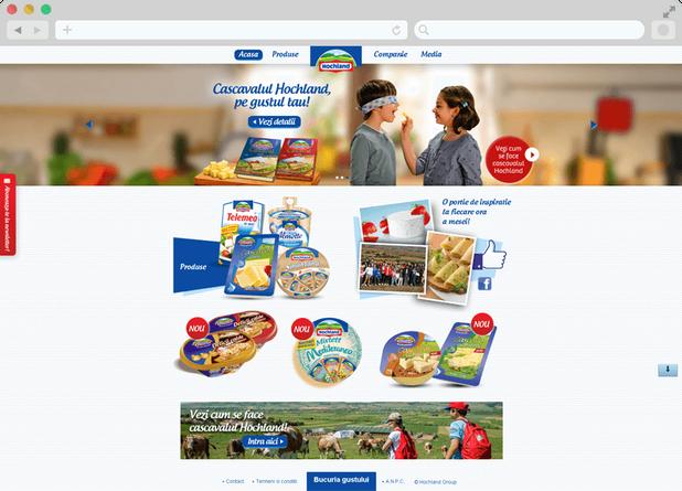 Hochland website launch 2