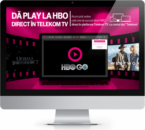 Telekom campaign in collaboration with HBO 2