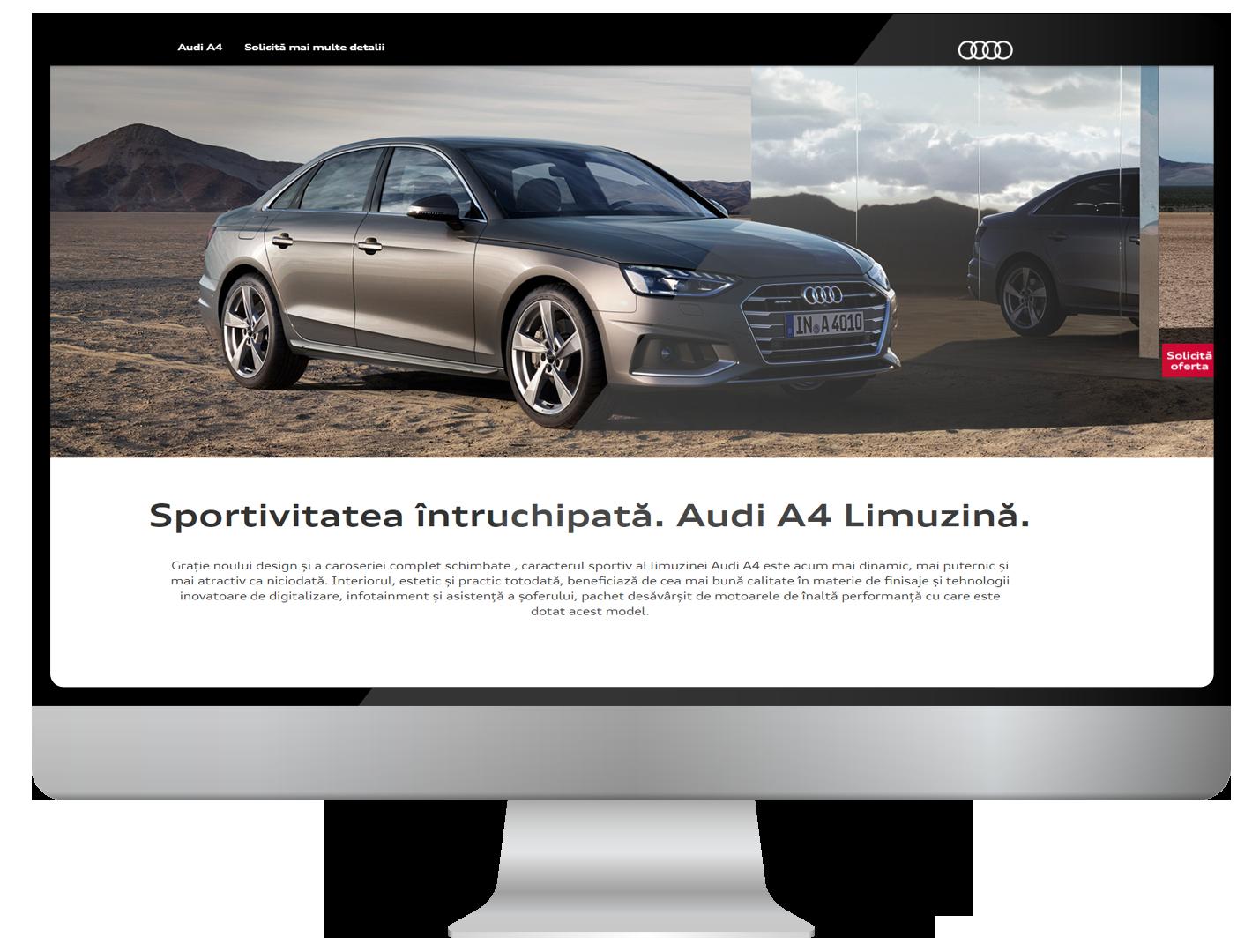 Audi A4 takes the lead