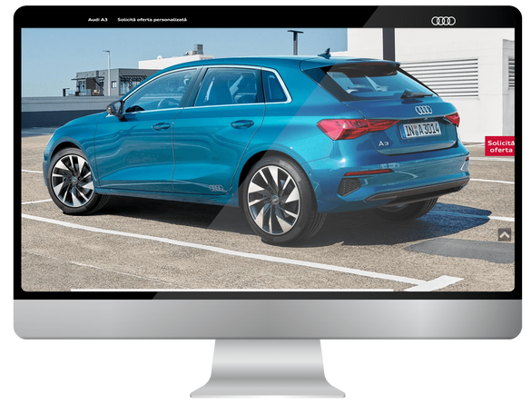 Users of the internet meet Audi A3 4