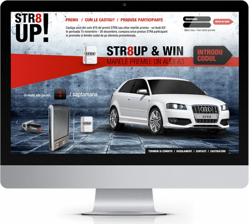 STR8 Up and win 1