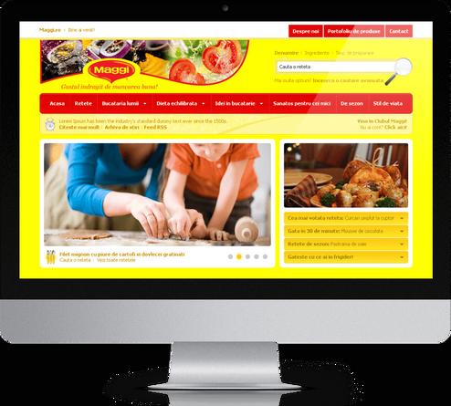 Maggi Brand Website 1