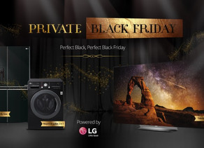 Cel mai negru Black Friday de la LG si INTERACTIONS