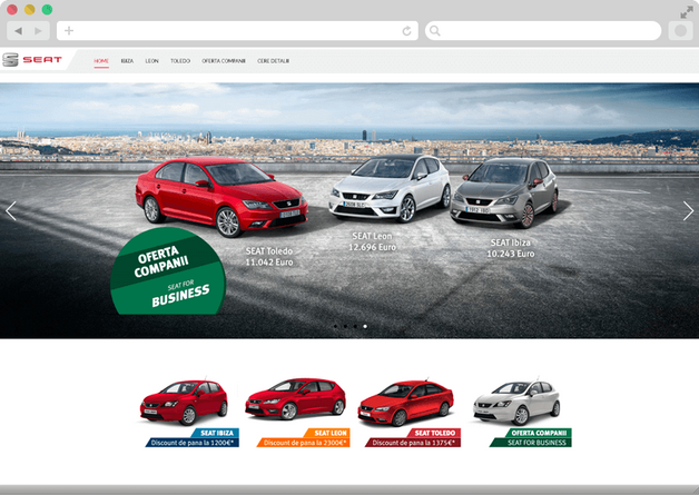Seat's special offers 2