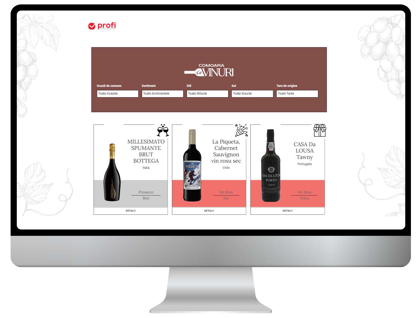 Digital sommelier