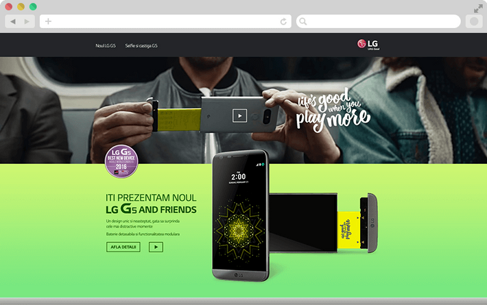 We present you the new LG G5 2