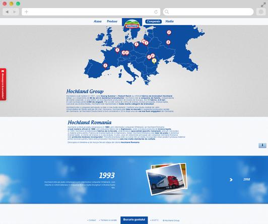 Hochland website launch 6