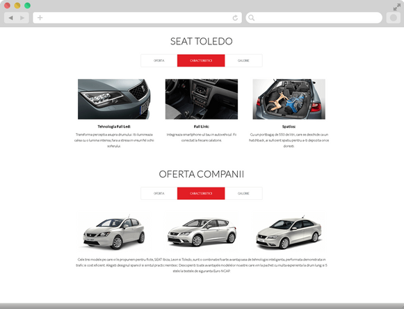 Seat's special offers 5