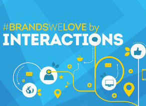 #BrandsWeLove by Interactions, un an si 51 de postari mai tarziu