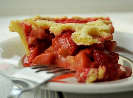 Enjoy that Strawberry Rhubarb Pie!