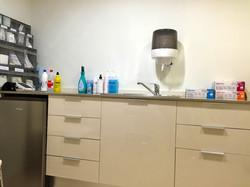 Sala exploración médica ginecológica