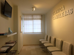 Sala de espera CLÍNICA CANALEJAS
