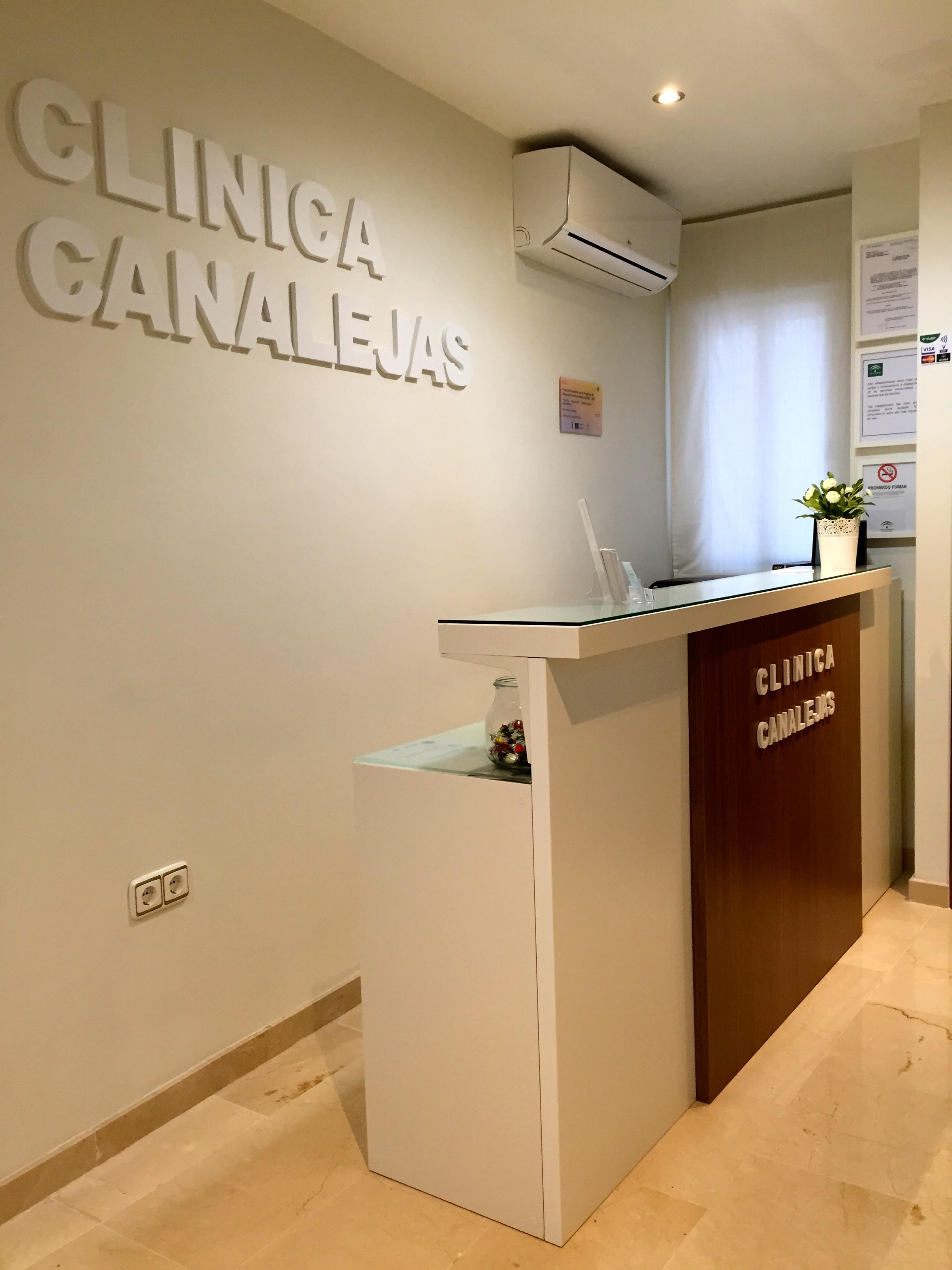 Recepción CLÍNICA CANALEJAS