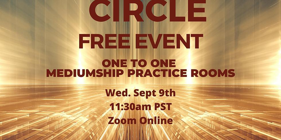 Wed 9/9 Mediumship Breakout Room Practice