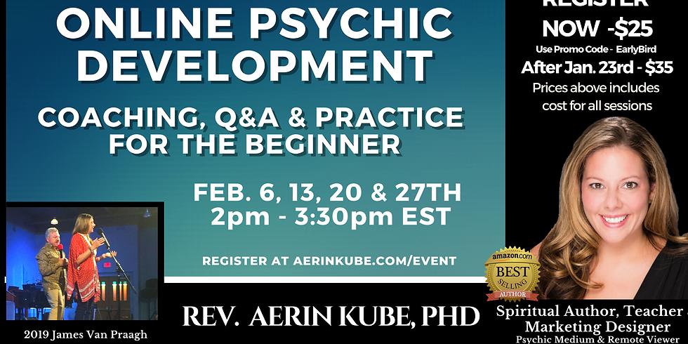 February Psychic Development Coaching For Beginners