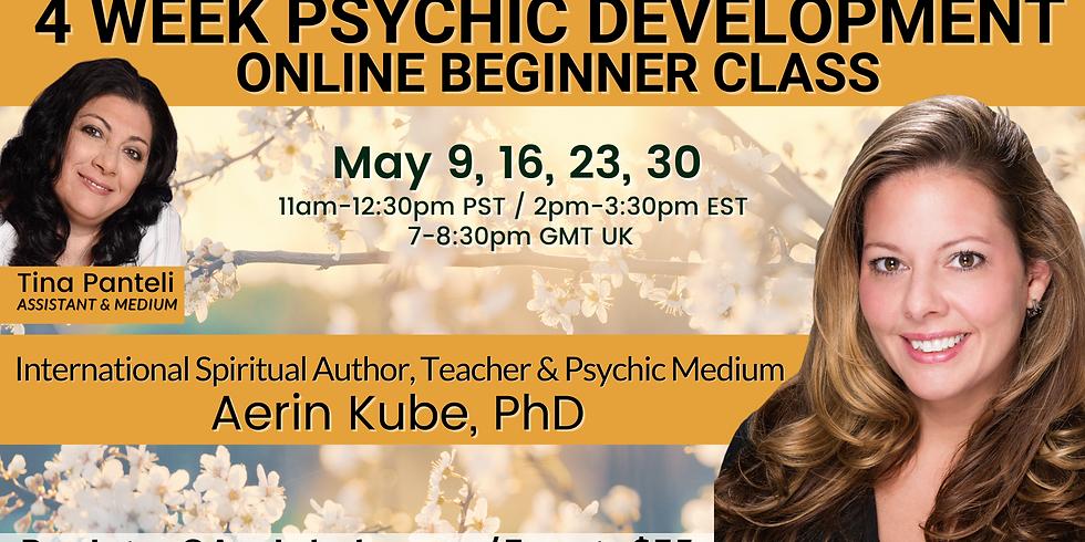 May Beginner 4 Week Psychic Development Class