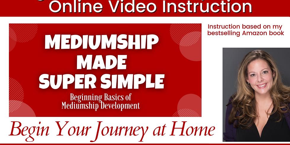 Intro To Mediumship 101 - Video Course