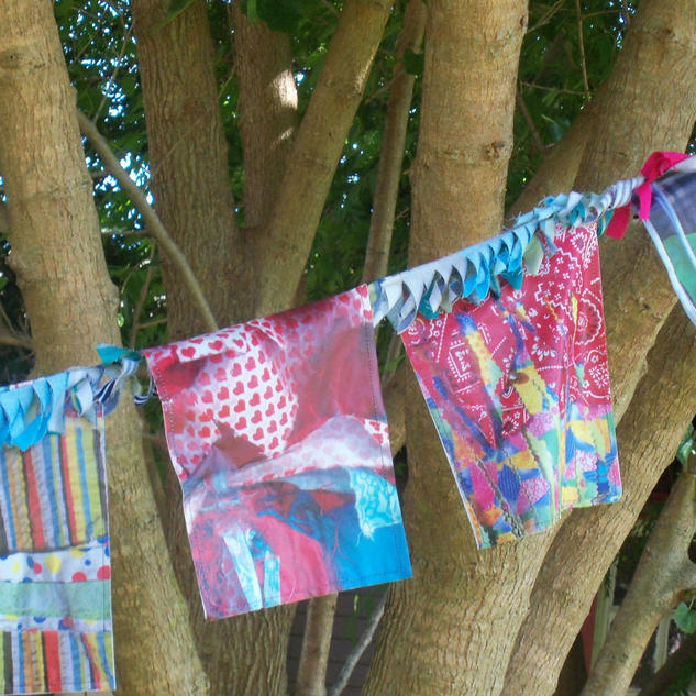 The Front Installation: Cajun Prayer Flags