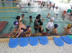 葛塚東小学校水泳教室