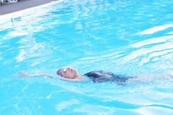 クロール&背泳ぎ