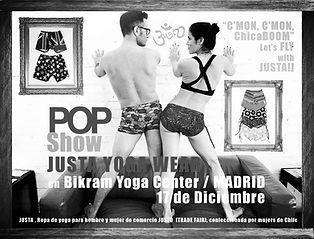 Justa Yoga Wear Fresh Pop Shows come near you