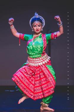 Odissi performance at Durgotsav