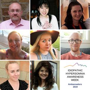 Idiopathic Hypersomnia Awareness Week Ambassadors® 2019