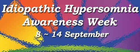 Idiopathic Hypersomnia Awareness Week 2014