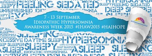 Idiopathic Hypersomnia Awareness Week 2015