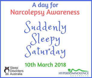 Suddenly Sleepy Saturday 2018