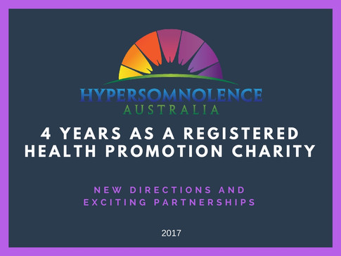 We celebrate 4 years as a Not for Profit Health Promotion Charity.