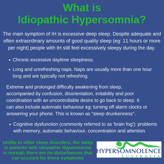 What is Idiopathic Hypersomnia?