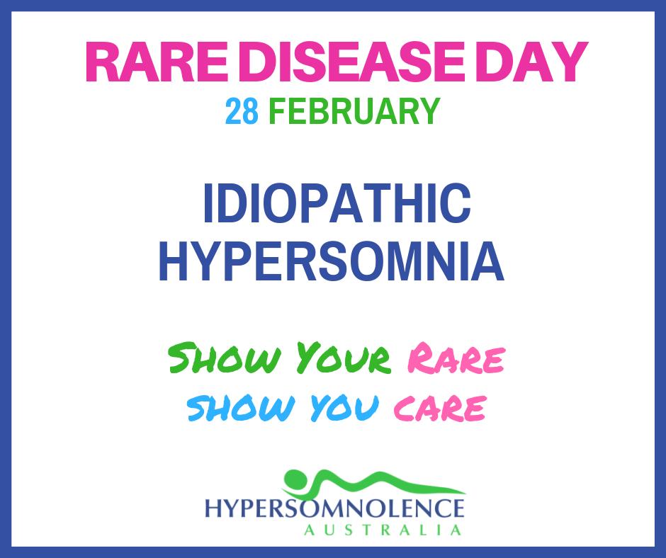 Rare Disease Day Idiopathic Hypersomnia
