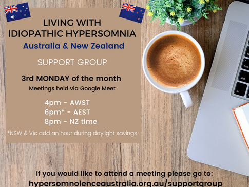 Living with IH Support Group Meetings