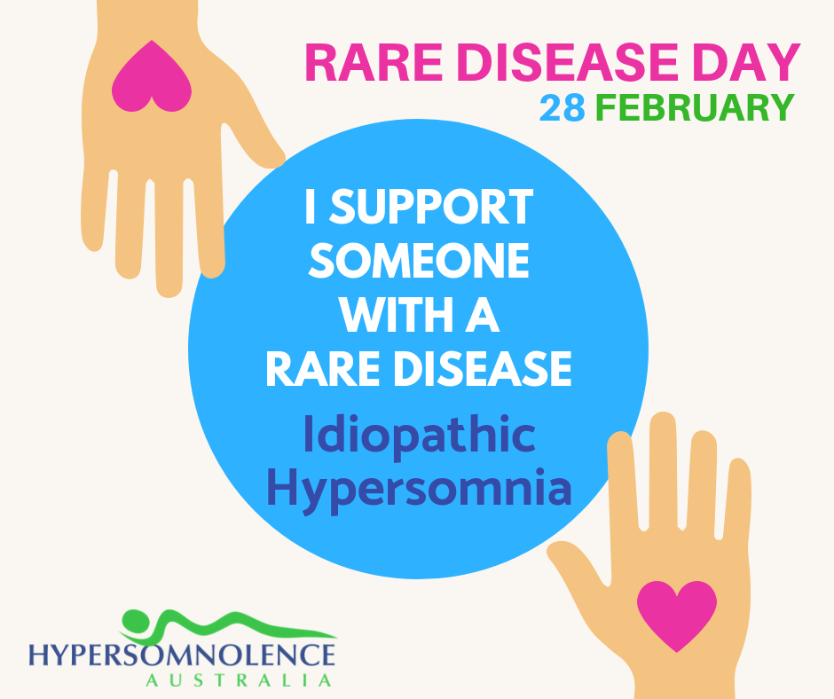 Rare Disease Day - I SUPPORT SOMEONE WITH A RARE DISEASE