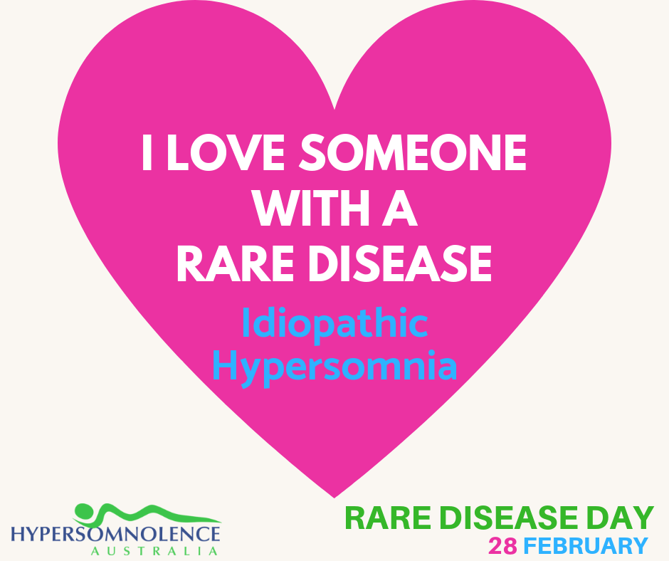 Rare Disease Day - I LOVE SOMEONE WITH A RARE DISEASE