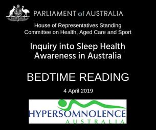 Bedtime Reading - a summary of the Australian Parliamentary report into sleep health