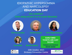Idiopathic Hypersomnia & Narcolepsy Education Day