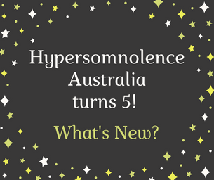 Hypersomnolence Australia turns 5! What's new?