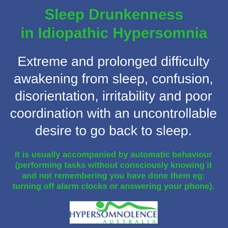Sleep Drunkenness in Idiopathic Hypersomnia