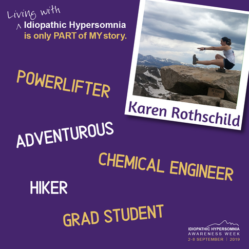 My name is Karen. Living with Idiopathic Hypersomnia is only part of my story.