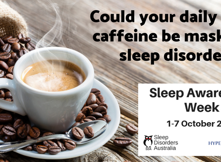 Could your daily hit of caffeine be masking a sleep disorder?