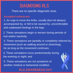 Diagnosing RLS
