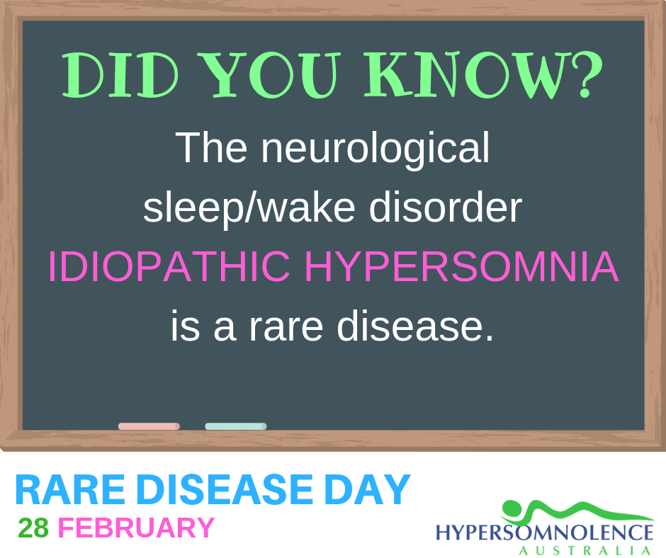 Did you know Idiopathic Hypersomnia is a rare disease?