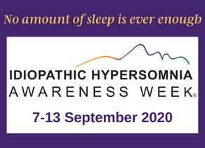 Idiopathic Hypersomnia Awareness Week 2020