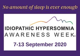 Idiopathic Hypersomnia Awareness Week 2020