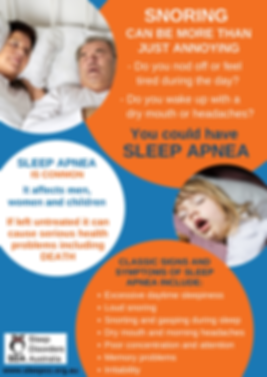 snoring can be more than just annoying.p