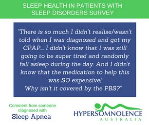 Sleep Health in Patients with Sleep Disorders Survey Feedback