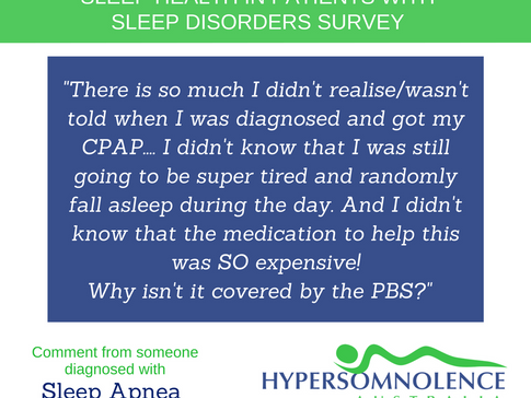 Sleep Health in Patients with Sleep Disorders Survey Feedback