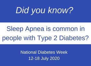 Sleep Apnea and Type 2 Diabetes
